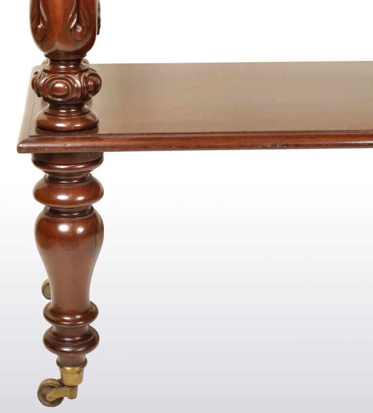 Antique William IV Mahogany Dumb-Waiter / Server / Table, circa 1830 For Sale 1