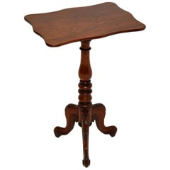 Antique William IV Mahogany Side Table
