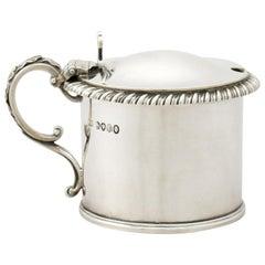 Antique William IV Sterling Silver Mustard Pot, 1837