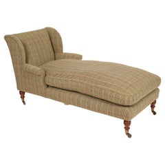 Antique William iv Style Chaise Lounge by Howard & Sons