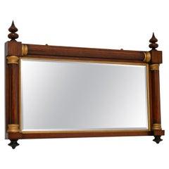 Antique William IV Wood & Gilt Mirror