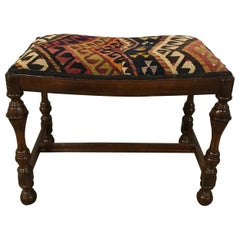 Antique William & Mary Style Bench