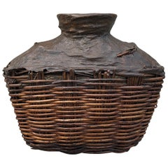 Antique Willow Food Oil Container
