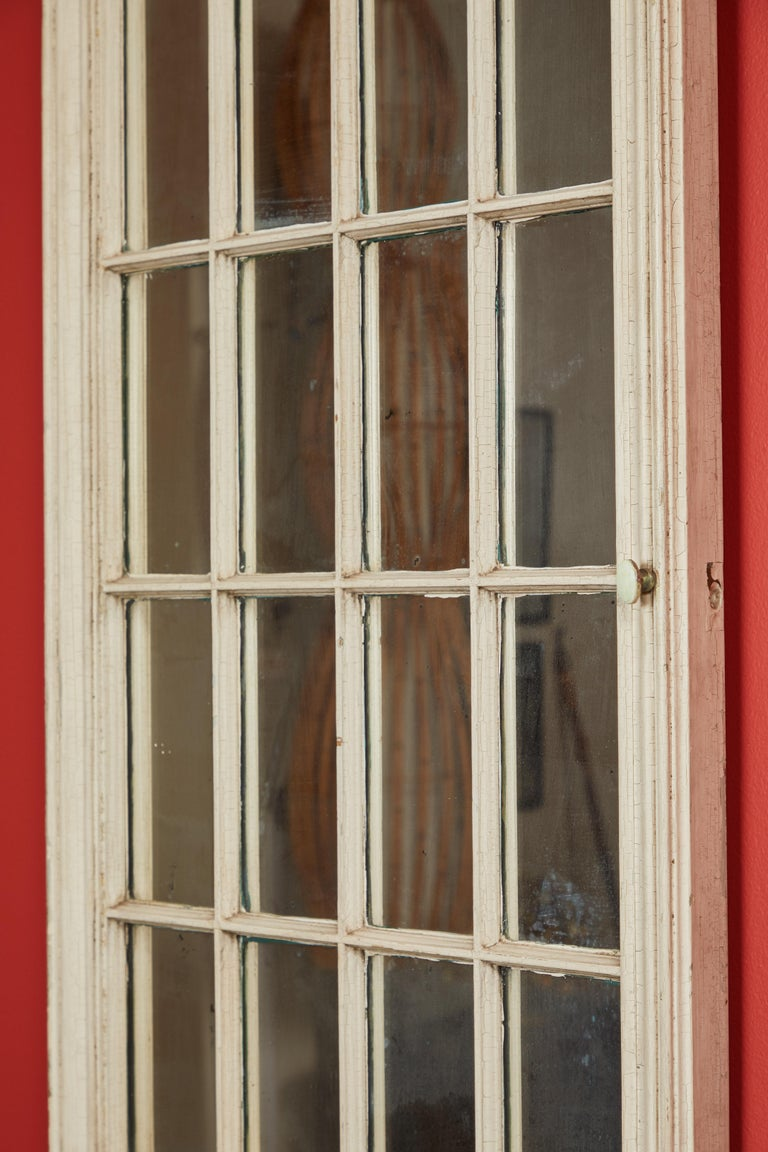 American Antique Window Pane Mirrors For Sale