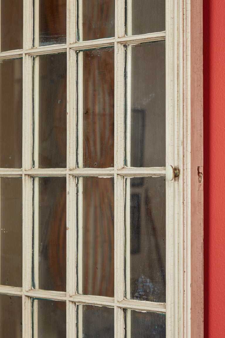 Antique Window Pane Mirrors In Good Condition For Sale In Los Angeles, CA