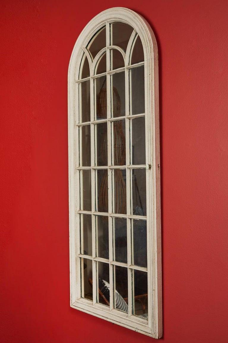 20th Century Antique Window Pane Mirrors For Sale