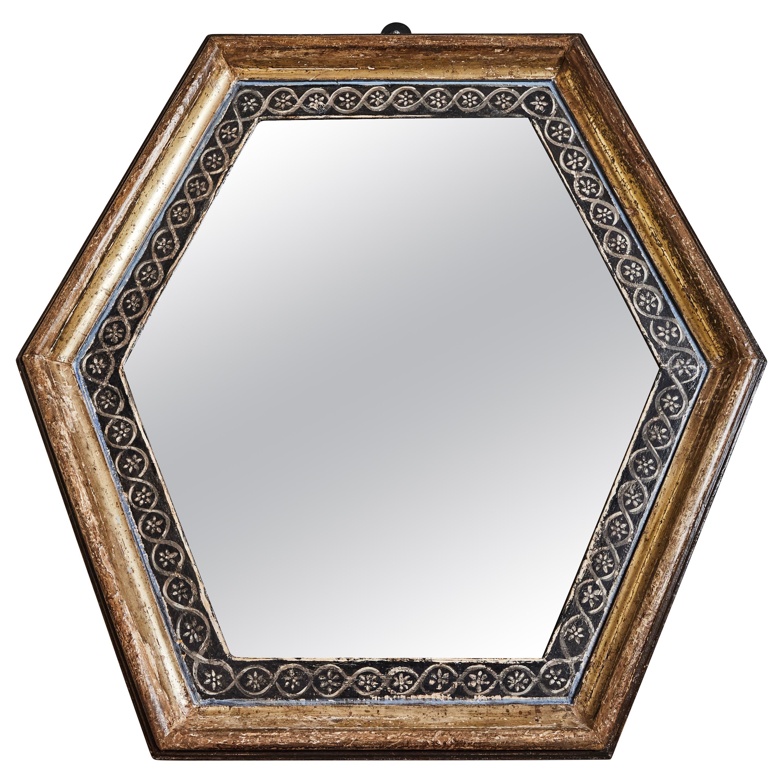 Italian, Antique Wood Framed Mirrors