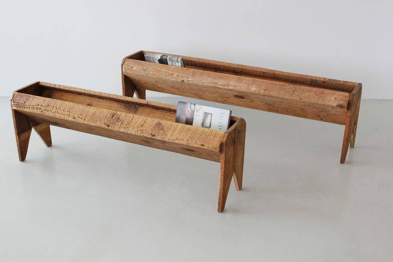 American Antique Wood Trough For Sale