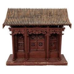 Antique Wooden Chinese Temple