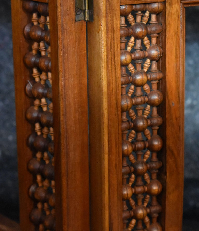 Antique Wooden Syrian Picture Frames or Mirror Frames In Good Condition For Sale In Cathedral City, CA