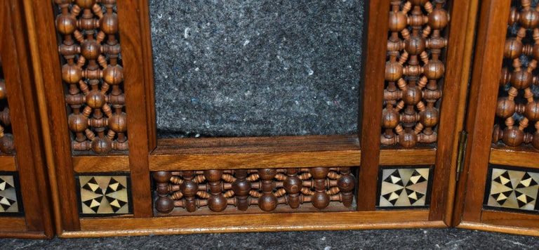 Antique Wooden Syrian Picture Frames or Mirror Frames For Sale 1