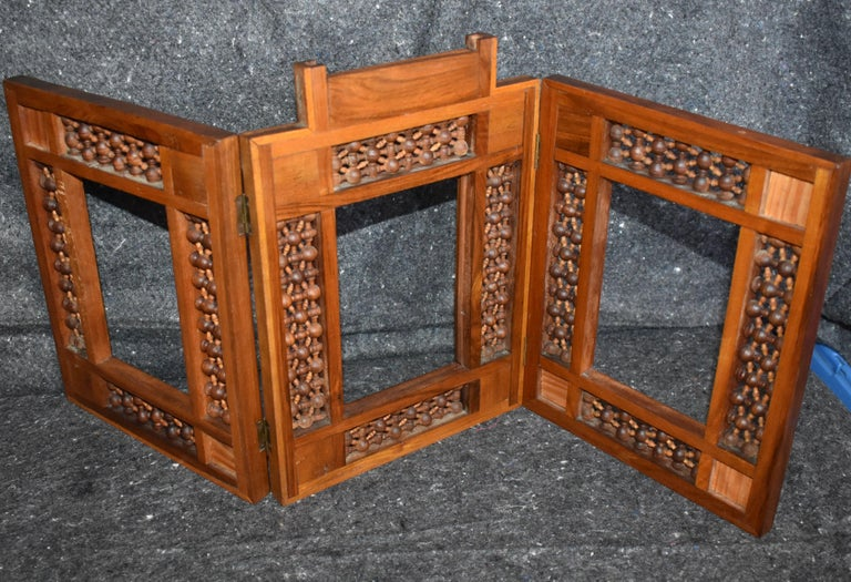 Antique Wooden Syrian Picture Frames or Mirror Frames For Sale 2