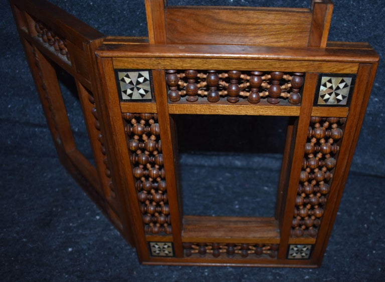 Antique Wooden Syrian Picture Frames or Mirror Frames For Sale 3