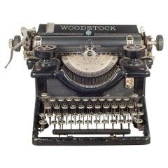 Antique Woodstock Typewriter, circa 1933