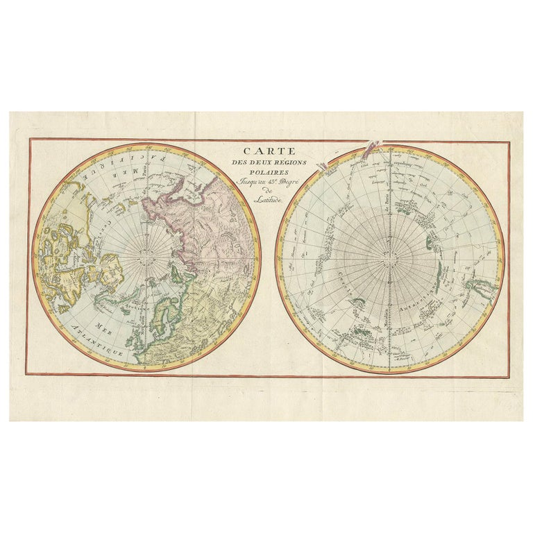 Antique World Map Circa 1780 For Sale At 1stdibs