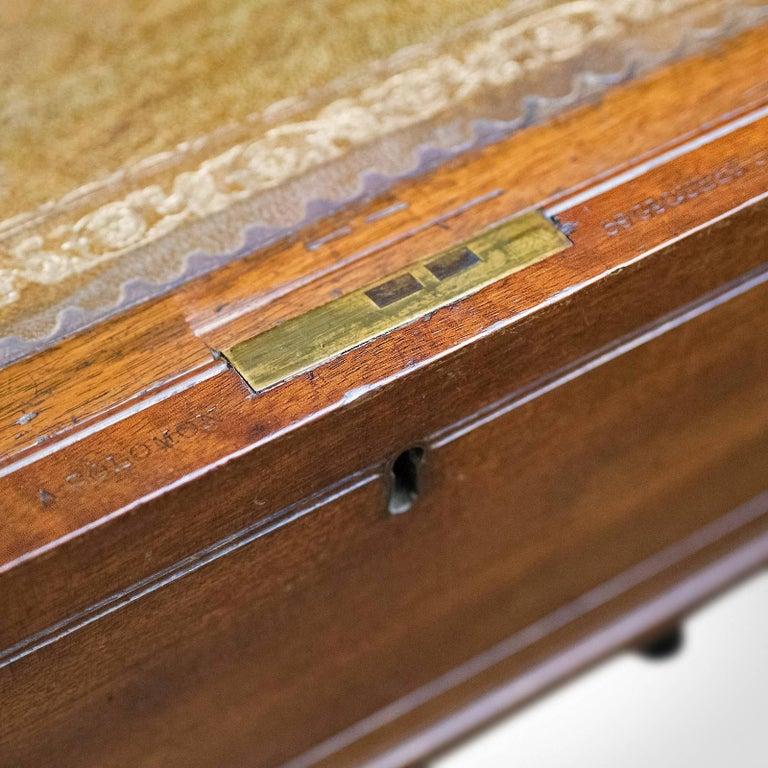 Antique, Writing Desk, William iv, Bonheur Du Jour, A Solomon, circa 1835 For Sale 5