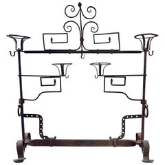 Antique Wrought Iron Fireplace Lanier