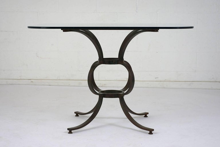 antique wrought iron patio table for sale at 1stdibs