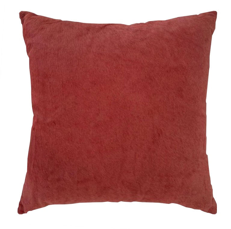 Antique zardozi pillow sourced from India and paired with contemporary fabric on the reverse side.