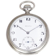 Antique Zenith Pocket Watch, Early 20th Century