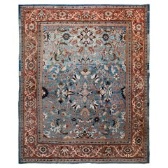 Antique Ziegler Sultanabad Carpet. Size: 10 ft 7 in x 12 ft 10 in