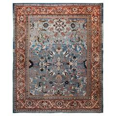 Antique Ziegler Sultanabad Carpet