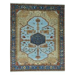 Antiqued Bakshaish High KPSI Hand Knotted Oriental Rug