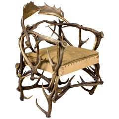 Antler Armchair, circa 1920, United Kingdom