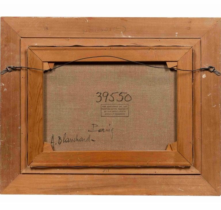 "Hand-Painted Antoine Blanchard ""Arc De Triomphe, Champs-Elysees"" For Sale"