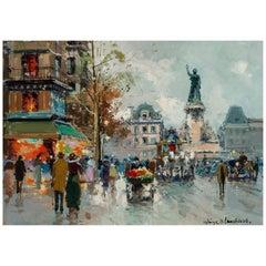 """Antoine Blanchard """"La Republique"""""""