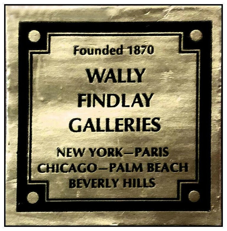 Antoine Blanchard Original Painting Oil On Canvas Paris France Cityscape Signed For Sale 3