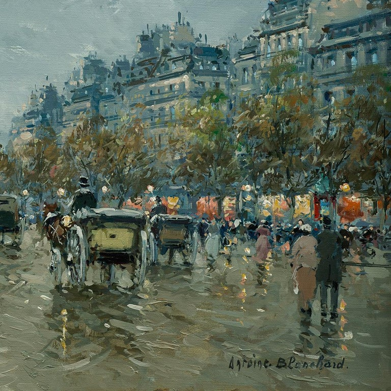 Arc de Triomphe - Painting by Antoine Blanchard