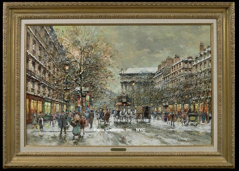 Boulevard de la Madeleine, Winter For Sale 1