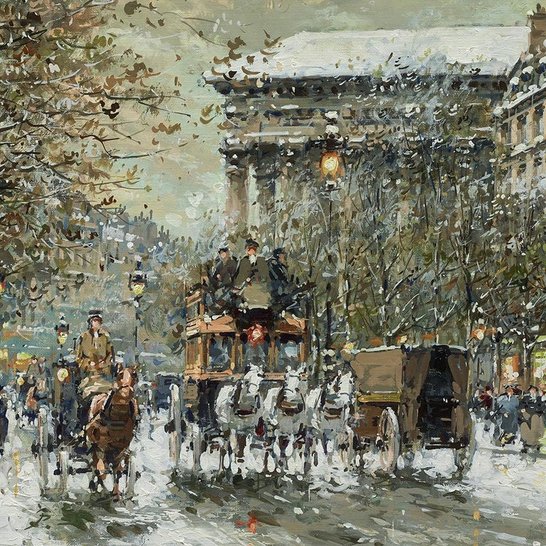 Boulevard de la Madeleine, Winter For Sale 3