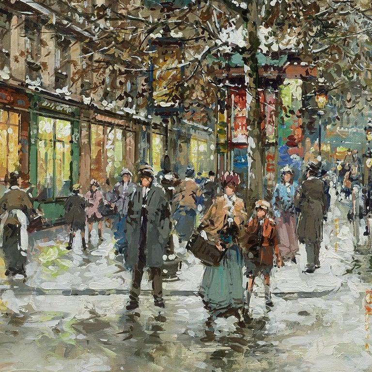 Boulevard de la Madeleine, Winter For Sale 4