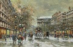 Boulevard de la Madeleine, Winter