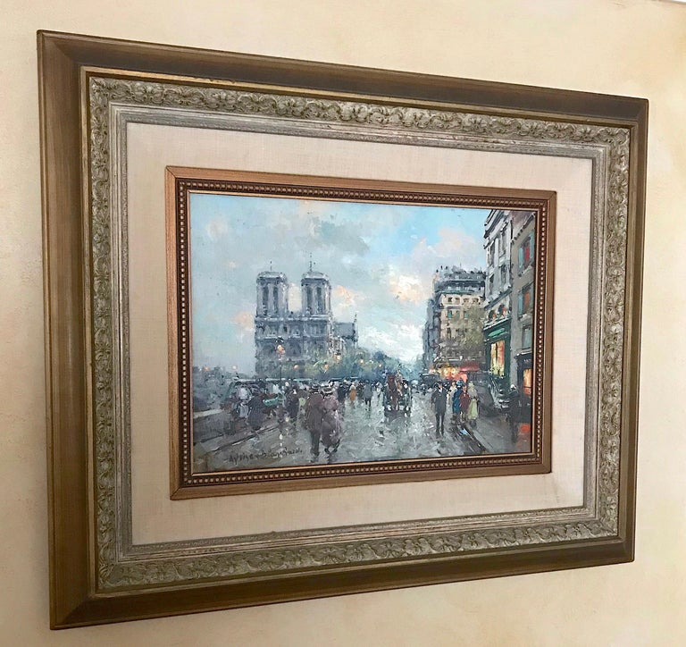 Cityscape by Antoine Blanchard For Sale 1