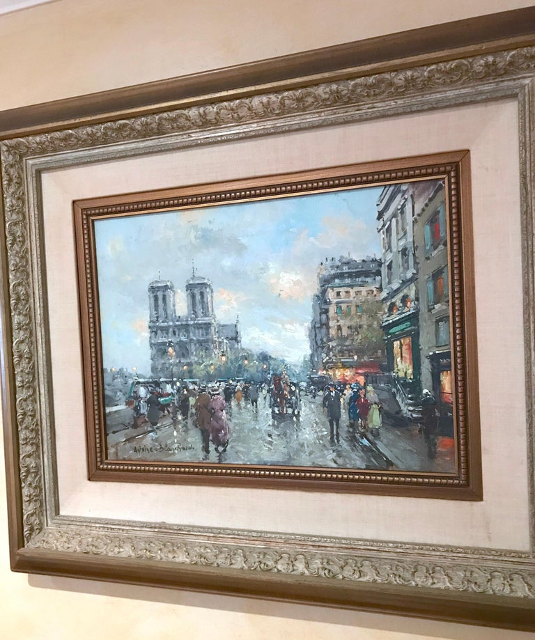Cityscape by Antoine Blanchard For Sale 2