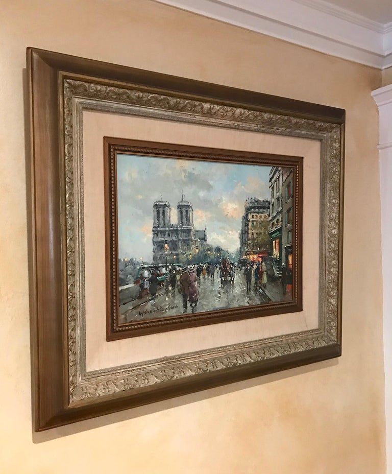Cityscape by Antoine Blanchard For Sale 7
