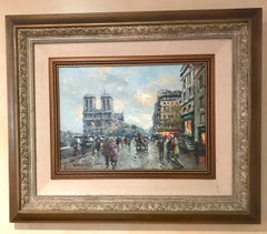 Cityscape by Antoine Blanchard