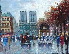 Paris. Oil on canvas, 20,5x25,5 cm