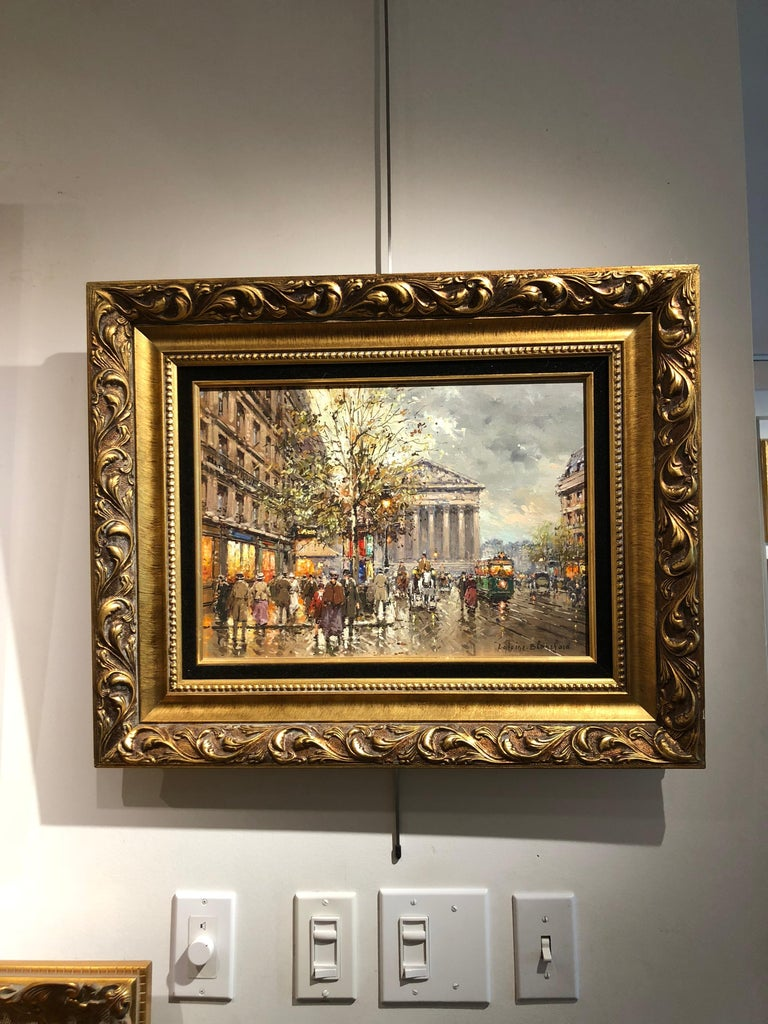 Rue de la Madelaine - Impressionist Painting by Antoine Blanchard