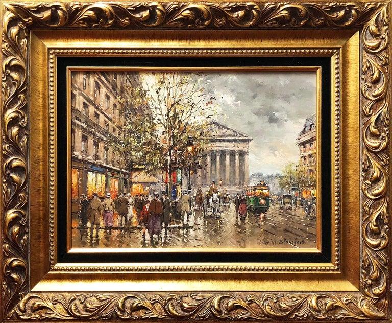 Rue de la Madelaine - Painting by Antoine Blanchard