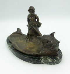 Little Red Riding Hood Inkwell