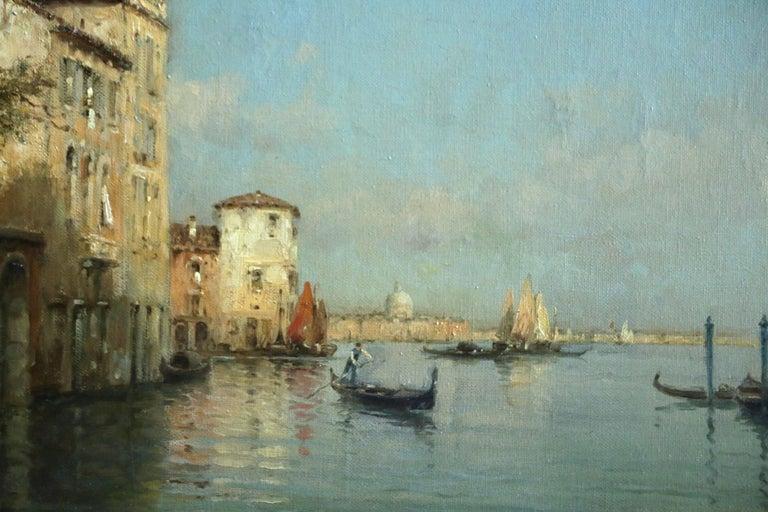 Venice - Painting by Antoine Bouvard Snr.