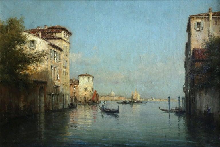 Antoine Bouvard Snr.  Landscape Painting - Venice