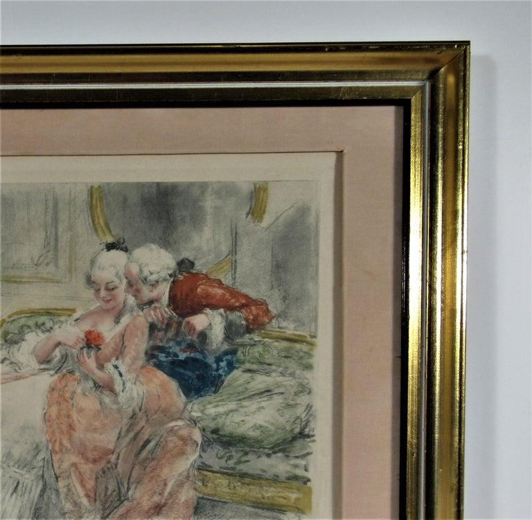 Scene Galante au XVIII eme Siecle #1 For Sale 1