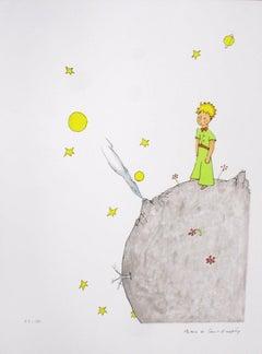 2008 Antoine de Saint Exupery 'The Little Prince on his Asteroid B 612'