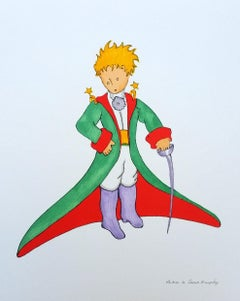 The Little Prince in a big suit L