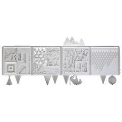 Antoine et Manuel Contemporary 'Tout Va Bien' White Cabinet for BD Barcelona